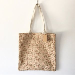 Brandy Melville Tiny Floral Print Tote Bag